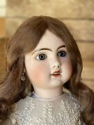 Tête Jumeau Open Mouth Bisque Doll Size 75 Cm 30 Inches Perfect Head