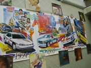 4 Brickyard 400 Poster Set 1994 1995 1996 1997 See Pics And Description New