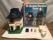 1976 Hasbro Weebles Haunted House Playset With Box And Some Accessories