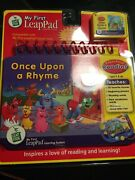 Leapfrog My First Leap Pad Once Upon A Rhyme Learning System + Cartridge New