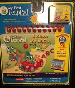 My First Leap Pad Learning System I Know My Abc's Sealed