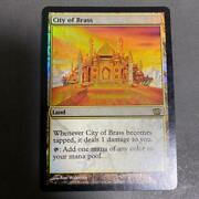 Mtg City Of Brass 8th Edition English Foil