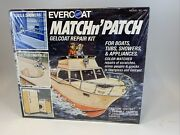 Vintage Evercoat Marine Match Nand039 Patch Gelcoat Repair Kit Model 668 New And Sealed