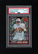 2015 Panini Prizm Stained Glass Russell Wilson Seahawks Psa 10 Gem Mint Pop. 2