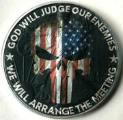 God Will Judge Our Enemies - We Will Arrange The Meeting American Silver Eagle