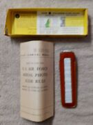 Pickett Model 700 Type A2 6 Us Air Force Aerial Photo Slide Rule W/ Case In Box