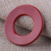 Red Engine Start Stop Button Ring Trim Decor Fit For 18 To 21 Jeep Wrangler Jl