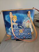 Disney Dooney And Bourke Cinderella Carriage Shopper Tote Bag Purse And Wallet