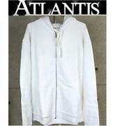 Chrome Hearts Ginza Store Us Online Exclusive White Glow Zip Up Hoodie