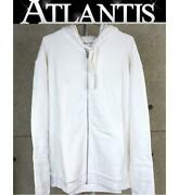 Ginza Store Us Online Exclusive Chrome Hearts White Glow Zip Up Hoodie