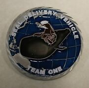 Seal Delivery Vehicle Team One Sdvt-1 Sea Warriors Navy Challenge Coin / Ver 2