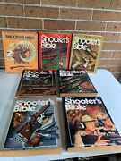 Lot Of 7 Vintage Shooters Bible Books/catalogs/1973, 78, 82, 84, 86, 88 And 89