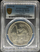 1921 French Indo-china Piastre Coin Heaton Mint Lec-297 Pcgs Au-details🥇🥈🥉