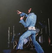 Elvis On Tour 45th Anniversary Deluxe Box Book Hardcover 128 Pg 9 Cd Sealed Rare