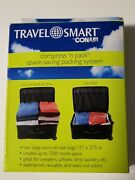 Travel Smart By Conair Compress N' Pack Space Saving Packing System 2 Bags New