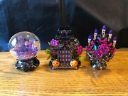 Bath And Body Works Haunted House Candelabra Projectors And Crystal Ball New