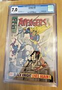 Avengers 48 1/68 Cgc 7.0 First Dane Whitman As Black Knight White Pages