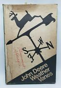 Vintage Nos 1960andrsquos John Deere Weather Vane Advertising Sign Part Ty1582 In Box