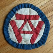 Theater-made Patch - Id Unknown Was With 3rd Infantry Division Medal I Listed