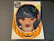 Vintage 1966 Dated Ben Cooper Wolfman Halloween Masquerade Costume And Mask 894