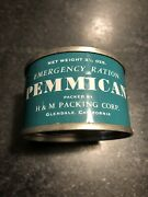 Wwii Or Vietnam Us Army Life Boat Pemmican Can Usmc Ration