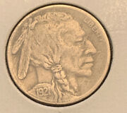 1921 S Buffalo Nickel Almost Full Horn 360 Strong Date Ribbon Vf+ Details