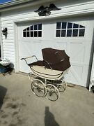 Vintage Early 1970's Marmet Baby Carriage Stroller Pram,england, Great Condition
