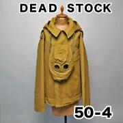 Dead Stock Tankers Jacket Outer Long Sleeves Size L Russian Army With Mask