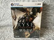 Ryse Son Of Rome - Chinese Big Box Edition Pc New And Sealed