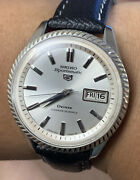 1967 Seiko Sportsmatic 5 Deluxe 25j Automatic Day Date Vintage Watch