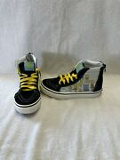 Off The Wall Boys The Simpsons Family Portrait Hightop Shoessize 2.5 Y