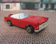1979 Kidco Diecast 1956 Ford Thunderbird In Red 1/64th Scale W/opening Trunk