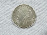1921-p Morgan Silver Dollar In A Beautiful Au+ Cond. Natural Color. Lot 80