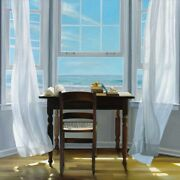 Art-print-contemplation-hollingsworth-37x37in-coastal-beaches-chairs-desk-inter