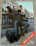 Vintage 2000and039s Magazine Advert Art Picture Red Stripe Jamiaca Lager Beer Ad