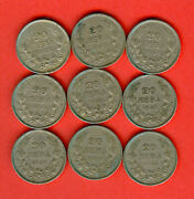 Kingdom Bulgaria 9 Pc X 20 Leva - Issue 1940 Buying These Coins Image
