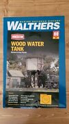 Walthers Cornerstone 933-3531 Wood Water Tank Kit Ho Scale Train Structure