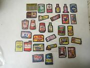 Vintage 1974 Topps Wacky Packages 9th Series Complete Set Tan Back 29/29 Nice