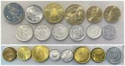 Nepal 20 Coins Full Set 1 2 5 10 20 25 50 Paisa And Rupees Coins Lot Au Unc