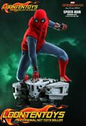 Hot Toys 1/6 Mms552 - Spider-man Far From Home Spider-man Homemade Suit Ready