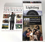 Photography Books Lighting And General Photography Lot Of 3