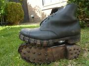 Reserved 2 X Pairs Wwii British Army Mountain Boots Hobnails
