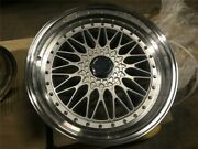 19 Staggered Rs Silver Style Rims Wheels Fits Honda Accord Sport Civic Si
