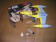 Lego 7660 Star Wars Episode 1 Naboo N-1 Starfighter And Vulture Droid Complete