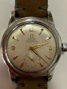 Omega Pre Seamaster 2576-4 Cal 343 Stainless Watch Chronometer Hodinkee Early