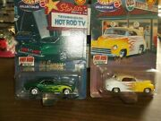 Hot Wheels Limited Edition Lot Of 2, Hot Rod Street Machines 68 Camaro, 47 Ford