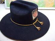 Vintage Adult Reproduction Civil War Or Cavalry Hat