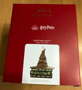 2021 Hallmark Harry Potter Sorting Hat Magic Light Sound Ornament Sold Out