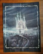 Disney - Cinderella Castle Wall Hanging Tapestry Limited Edition Of 1,000