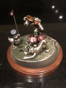 """Chilmark """"disney Comic Capers Foursome"""" Fine Pewter Limited Edition 231/500 New"""